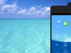 AppLock Theme - Sea 1.2 Screenshot
