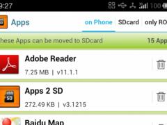 Apps 2 SD (Move app 2 sd) 4.0407 Screenshot