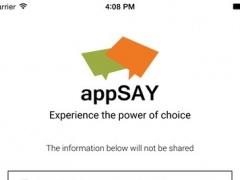 AppSay 1.0 Screenshot