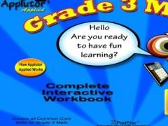 AppTutor Applied – Grade 3 Math Common Core Interactive Workbook 1.0 Screenshot