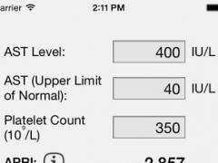 APRI Score 1.0 Screenshot