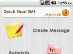 Apricot's QuickShort SMS 1.1 Screenshot