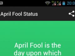 April Fool Status 1.0 Screenshot