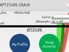Aptitude Coach 13.0 Screenshot