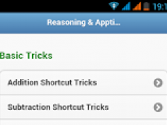 Aptitude Reasoning Tricks 2016 1.0.0 Screenshot