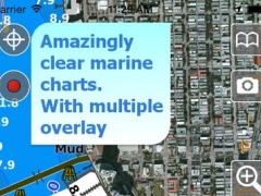 Aqua Map Florida HD - Marine GPS Offline Nautical Charts for Fishing, Boating and Sailing 6.1 Screenshot