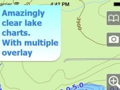 Aqua Map Montana - Lakes GPS Offline Nautical Charts 6.1 Screenshot