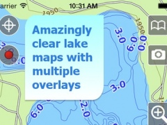 Aqua Map North Dakota - Lakes GPS Offline Nautical Charts 6.1 Screenshot