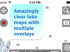 Aqua Map Wisconsin - Lakes GPS Offline Nautical Charts 6.1 Screenshot