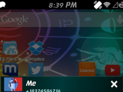 Aquarius Theme for GO SMS 2.1 Screenshot