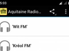 Aquitaine Radio Stations 1.0 Screenshot