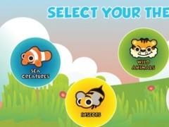 ذاكرة توصيل الحيوانات: لعبة لتعليم اللغة العربية للأطفال. Arabic Animal Matching : Learn Arabic word game for kids 1.1 Screenshot