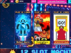 Arcade Pixel Slots - Free Lucky Cash Casino Slot Machine Game 1.0 Screenshot