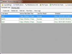 Archive Manager - Standard 3.447 Screenshot