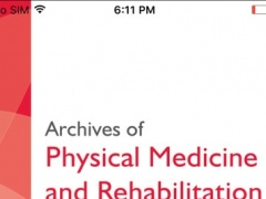 Archives of Physical Medicine and Rehabilitation 5.6.1 Screenshot