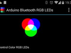 Arduino Bluetooth RGB LEDs 0.6 Screenshot