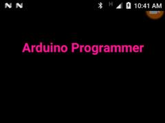 Arduino Programmer 1.0 Screenshot