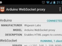 Arduino WebSocket proxy 1.0 Screenshot