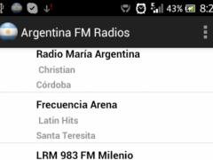 Argentina FM Radios 3.0 Screenshot