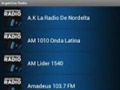 Argentina Radio 1.0 Screenshot