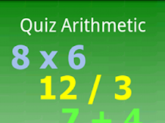 Arithmetic Quiz 0.7.4 Screenshot