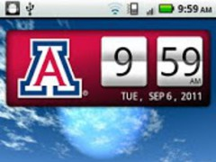 Arizona Wildcats Clock Widget 2.0.2 Screenshot