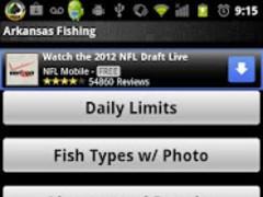 Arkansas Fishing Guide 1.0 Screenshot