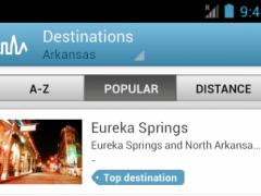 Arkansas Guide by Triposo 4.4.1 Screenshot