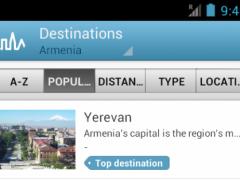 Armenia Guide by Triposo 4.4.1 Screenshot