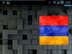 Armenian Flag Widget 1.0 Screenshot