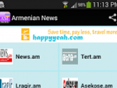 Armenian News 1.0 Screenshot