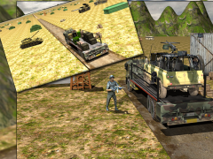 Army Cargo Truck Transport 1.0 Screenshot