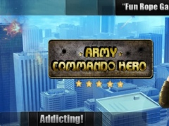 Army Commando Rope Hero - Swing and Fly Elite Soldier Escape Pro 1.0 Screenshot