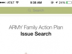 Army Family Action Plan Issue (AFAP) Issue Search 2.0.1 Screenshot