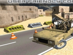 Army Jeep Parking 3D Pro - Simulation of infantry vehicles parking game 2016 1.0 Screenshot