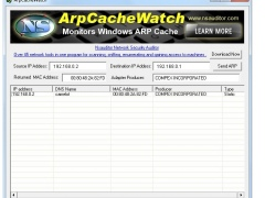 ArpCacheWatch 1.6.6 Screenshot