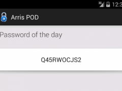 Arris POD 1.0 Screenshot