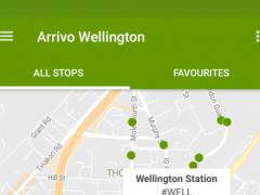 Arrivo Wellington Transit App 3.1 Screenshot