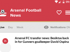 Arsenal Football: Arsenal News 2.2.7 Screenshot