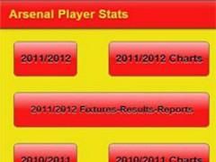 Arsenal Player Stats 1.63 Screenshot