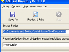 Art Directory Print 3.1 Screenshot