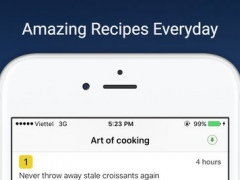 Art of cooking - great food everyday on video 1.0 Screenshot