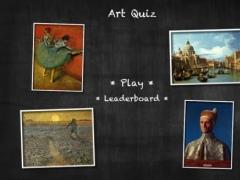 Art Quiz for iPad 1.01 Screenshot