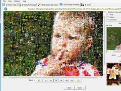 Artensoft Photo Mosaic Wizard 1.6 Screenshot