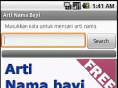 Arti Nama Bayi Indonesia 1.0 Screenshot