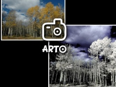 Arto: f.infrared photo 3.1 Screenshot