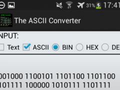 ASCII Code Converter 1.1 Screenshot