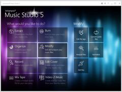 Ashampoo Music Studio 6 6.0.2 Screenshot