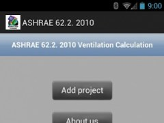 ASHRAE 62.2 2010 1.0 Screenshot