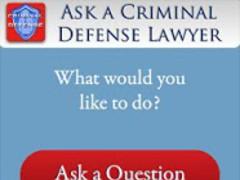 Ask a Criminal Defense Lawyer 1.0 Screenshot